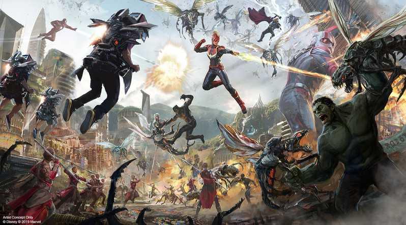 Avengers Land Disney Parks #7
