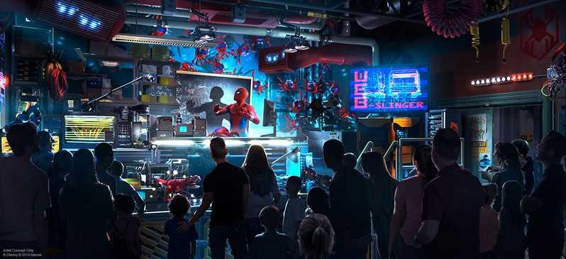 Avengers Land Disney Parks #2