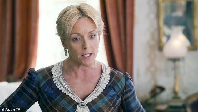Matriarch:The trailer begins with Steinfeld's mother, played by Krakowski, saying: 'She¿s wild. She will be the ruin of this family. And she doesn¿t know how to behave like a proper young lady'