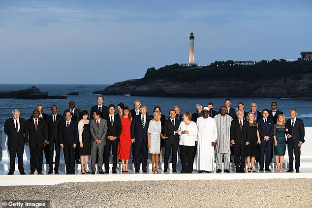 G7 leaders and their guests met at the group of nations ¿ the US, Canada, UK, France, Germany, Italy and Japan ¿ summit in Biarritz, France, last week