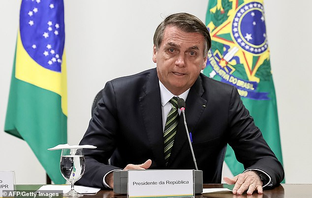 Brazil's president Jair Bolsonaro has been embroiled in a bitter war of words with his French counterpart, Emmanuel Macron, over the disaster. He has recently announced a U-turn on his refusal to accept the foreign aid but only on the condition he can spend it on his own terms