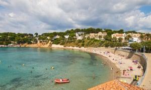 Portissol beach, Sanary-sur-Mer