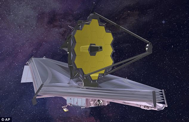 The vast telescope, which has already cost more than $7 billion (£5 billion), is considered a successor to the orbiting Hubble Space Telescope