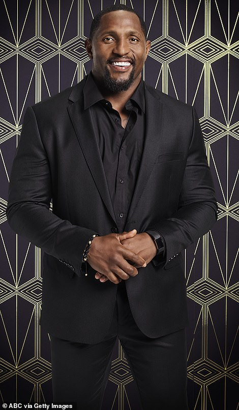 former NFL linebacker Ray Lewis