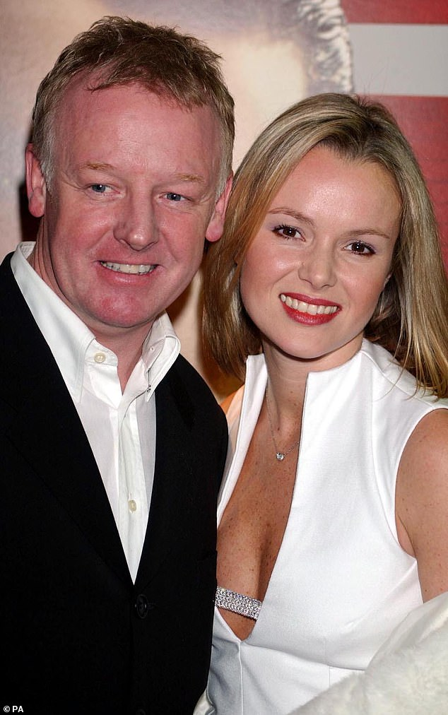 Reputation: The presenter, 48, revealed she felt public perception of her changed for the better after Simon Cowell made her a part of the popular ITV talent show in 2007 (pictured with ex-husband Les Dennis in 2002)