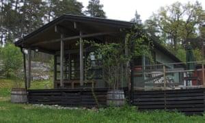 Stegesund-Hästholmen cabin, from Airbnb.
