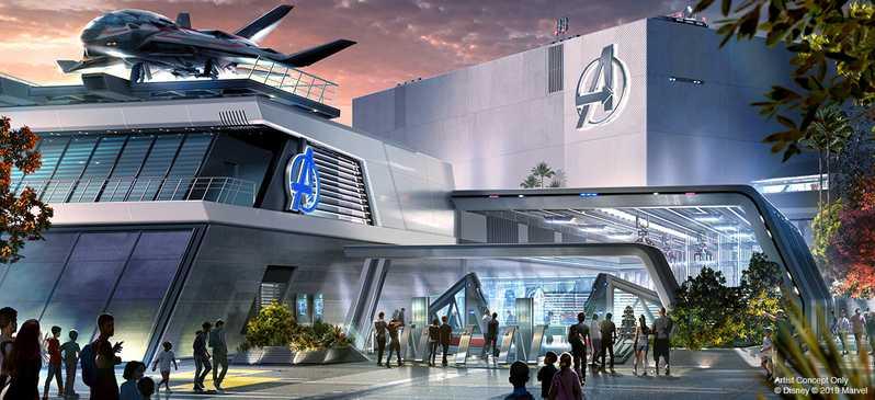 Avengers Land Disney Parks #6