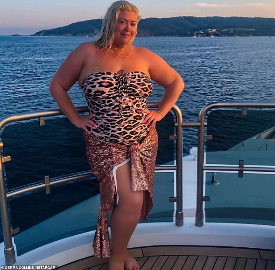 Wow! This comes after Gemma showcased her curves once again as she shared a natural swimsuit snap to the photo-sharing site on Tuesday morning