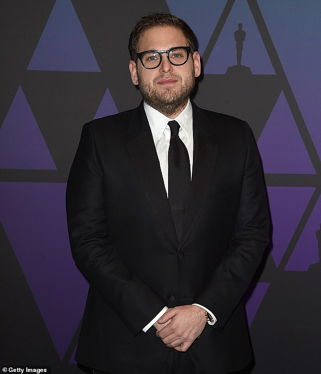 Settling down: Jonah Hill, 35, who has just become engaged to his girlfriend of one year Gianna Santos, has purchased a new home in the California seaside town of Santa Monica