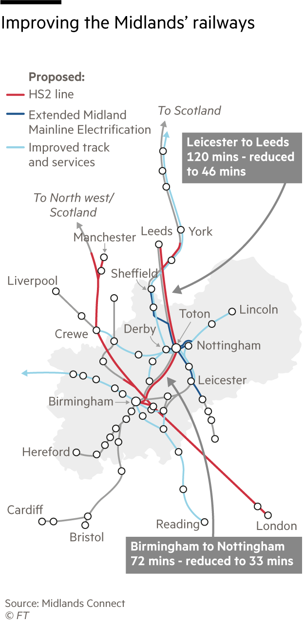 Improving the Midlands' railways map