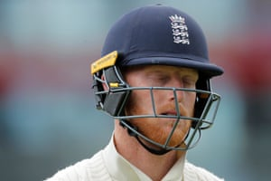 Stokes walks and England are in trouble.