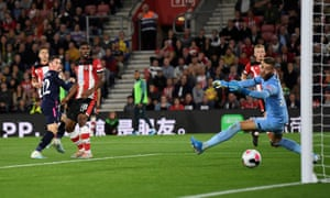 Bournemouth's Harry Wilson scores the second from close range.