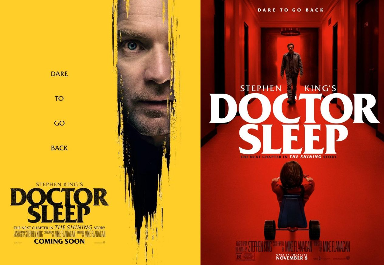 'Doctor Sleep' makes clear reference to 'The Shining' in its newest pair of posters.