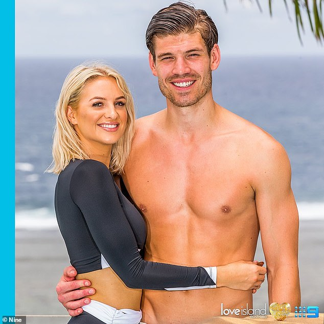 Partner swapping: Eoghan said he and Matt were both instantly attracted to Jordan and Isabelle Green (left) following their arrival, but there was never any competition