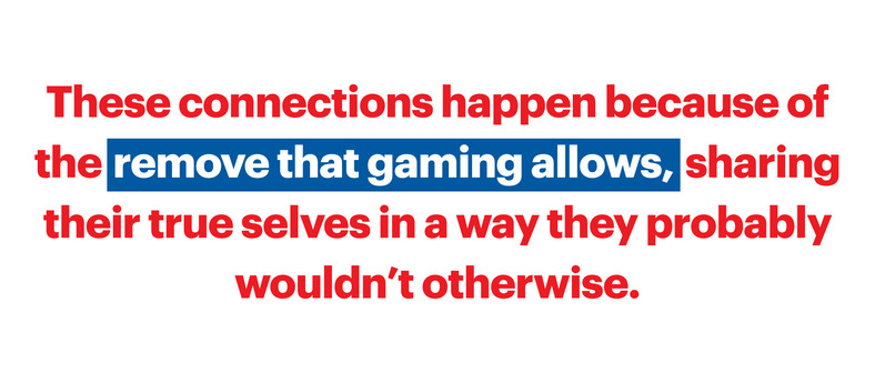 Loneliness Is Fatal. Gaming Can Keep Men Alive.