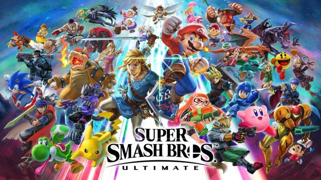 Super Smash Bros. Ultimate key art