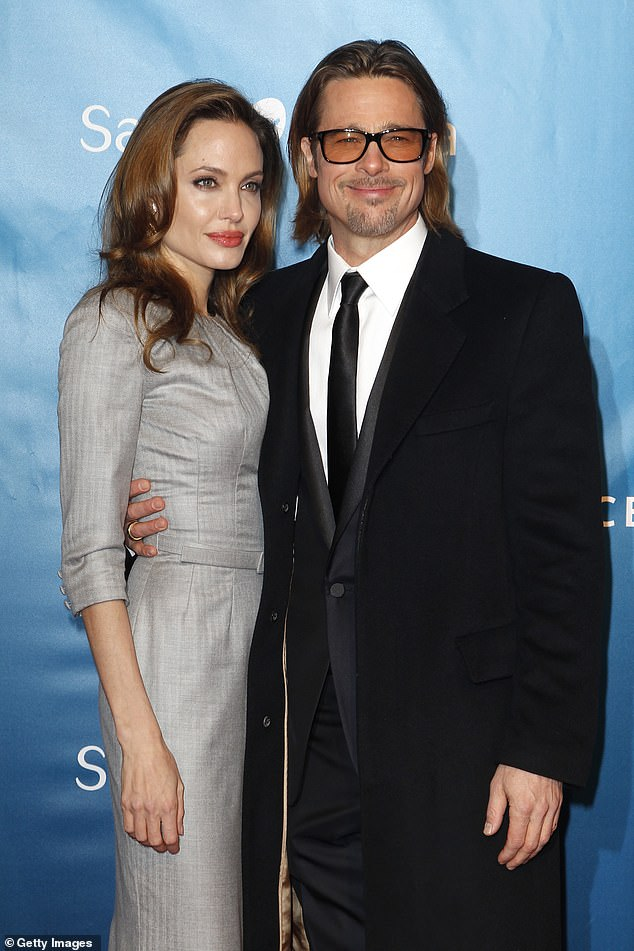 Bad feelings: Though Angelina split from husband Brad Pitt in 2016, she still does not want to be friends with the A list actor, it has been claimed. The Oscar winner reportedly has 'bitter' feelings toward the Ad Astra star. Seen in 2012