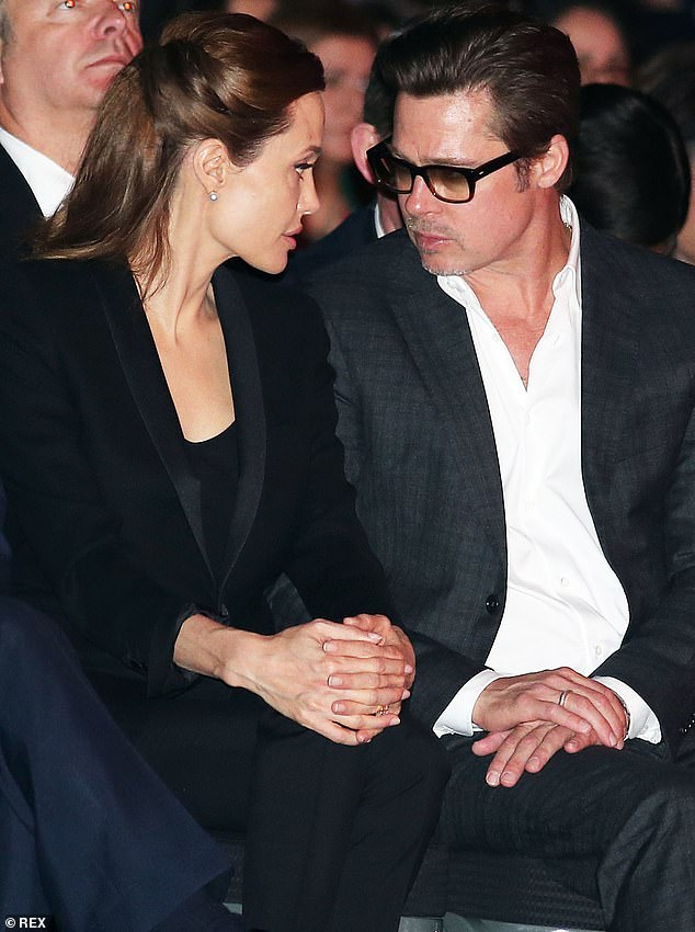 She never wanted to be Mrs Pitt!It was added that Pitt pushed her into getting married in 2014 at their home in France. 'She felt that Brad pressured her,' a source told Us in October. Seen in June 2014