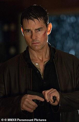 Cruise in the 2012 film Jack Reacher