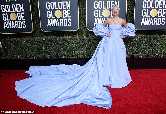 Glam scandal:Lady Gaga left behind a custom Valentino Couture dress at the Beverly Hilton Hotel in Los Angeles back in January