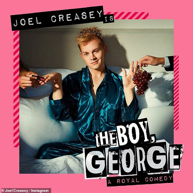 Busy boy! Joel meanwhile is rather busy with his upcoming tour, as well as a play he has just announced this week. He will be playing Prince George in a play called The Boy George, A Royal Comedy
