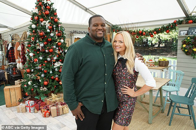 Dynamic duo: Emma Bunton is also returning to host the show alongside former US football star turned presenter Anthony ''Spice'' Adams