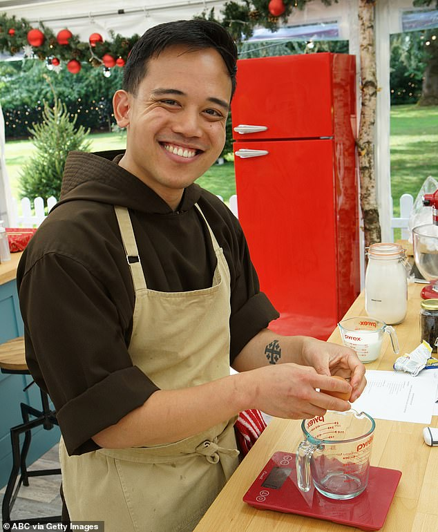 At odds: Andrew will also put his skills at baking cakes and all manner of delicious treats to the ultimate test
