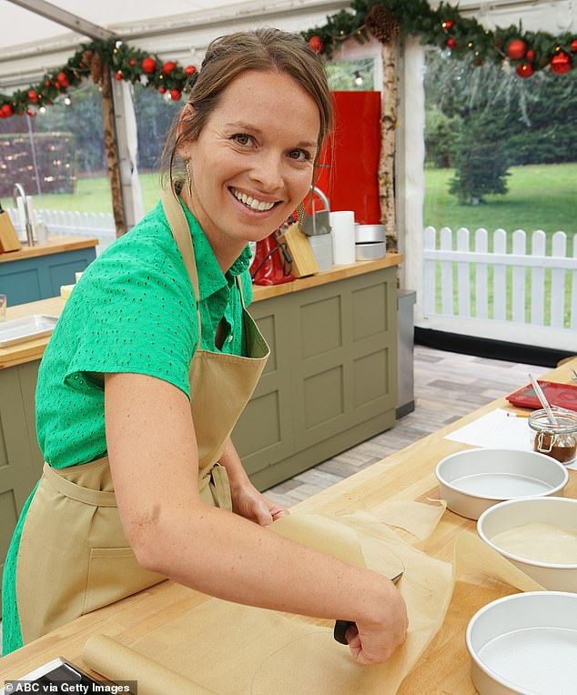 Battling it out: Helen rounds out the lineup of the ten bakers battling it out in the iconic tent