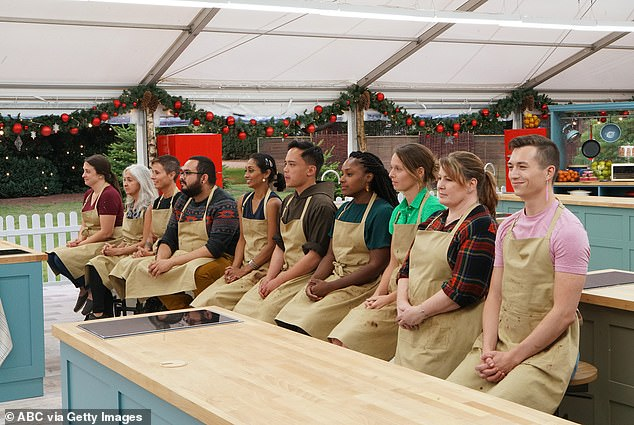 On soon:The Great American Baking Show: Holiday Edition returns on Thursday December 12 at 9pm EST on ABC