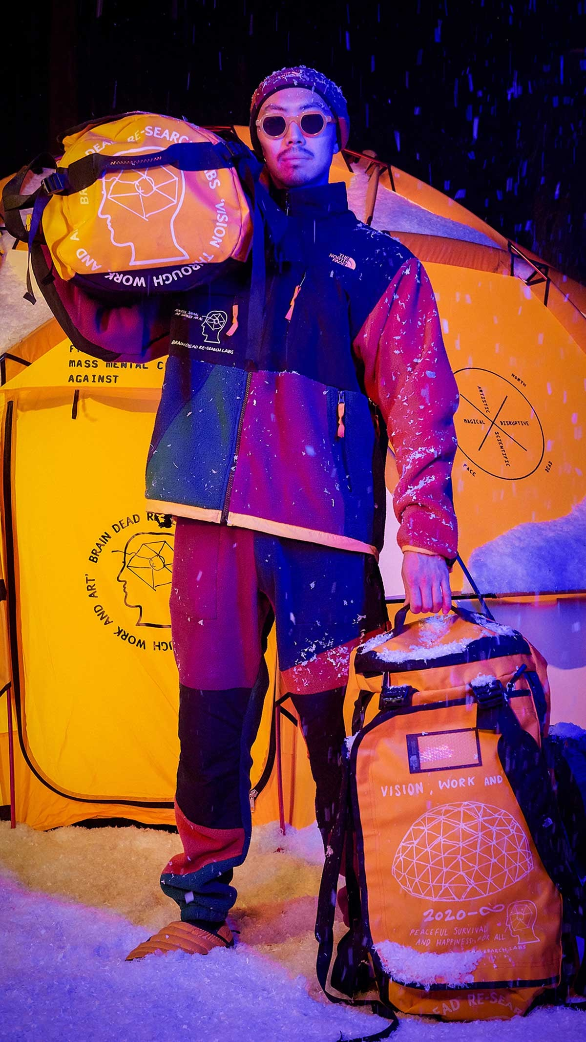 The North Face collaborates with art collective for streetwear collection