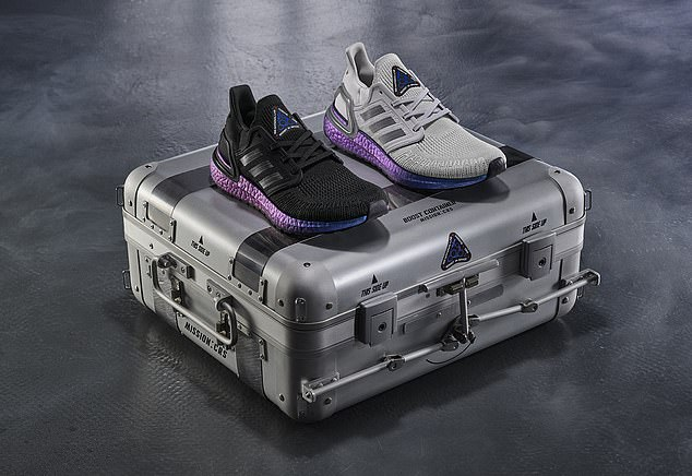 The adidas Ultraboost 20 was designed by the International Space Station (ISS) U.S. National Laboratory by drawing parallels with the construction of a space shuttle