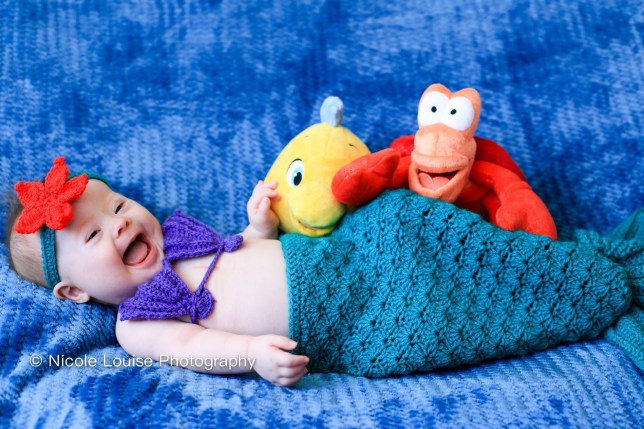 Children with Down's syndrome dressed as disney characters (Picture: Nicole Louise Photography)