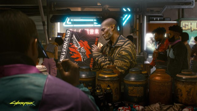 Cyberpunk 2077 screenshot (pic: CD Projekt)