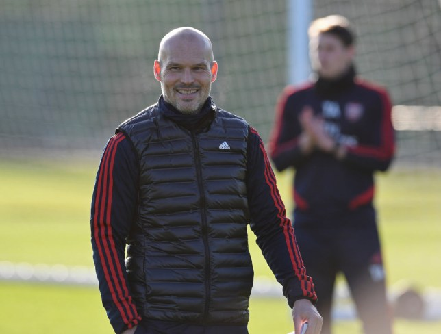 Freddie Ljungberg will take charge of his first match as Arsenal manager against Norwich tomorrow