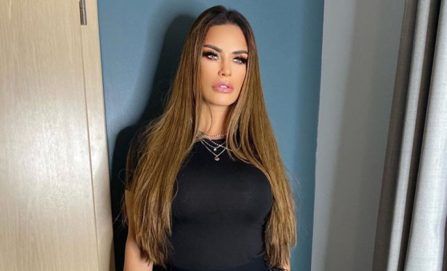 Katie Price night out after bankruptcy