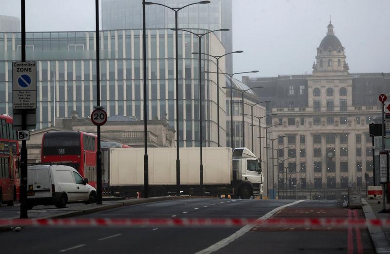 © Reuters. Stabbing on London Bridge in London