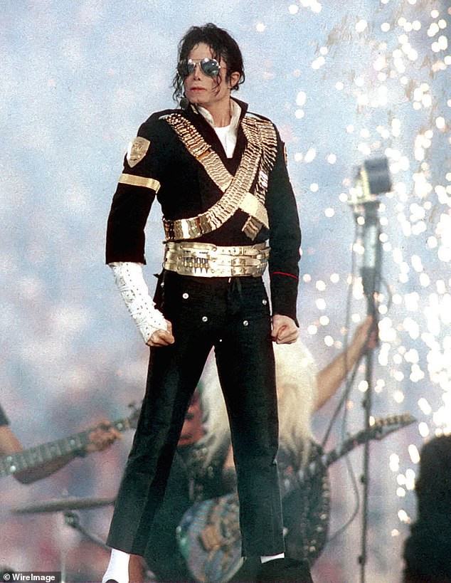 New biopic: A new biopic revolving around Michael Jackson's life is in the works. The producer of Bohemian Rhapsody Graham King is set to develop it.  Michael is pictured above at the Super Bowl XXVII in January 1993