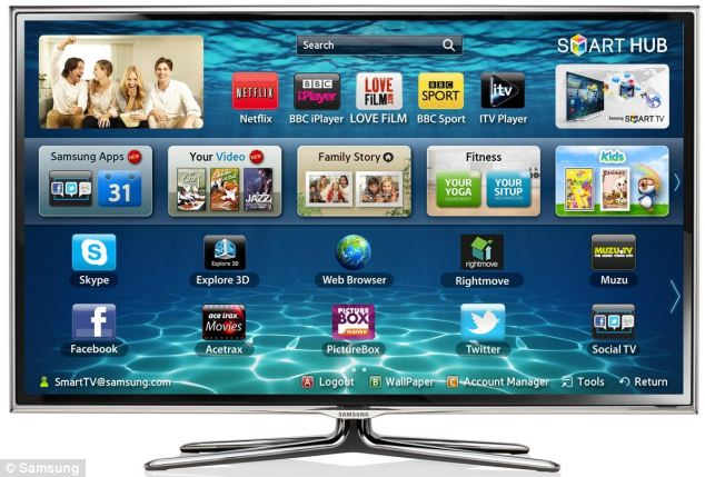Samsung claims you can access Netflix on its smart TVs via a game console, streaming media player, or set-top box