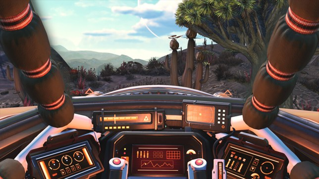 no man's sky cockpit first-person