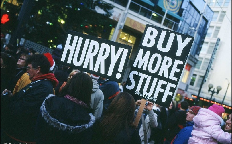 Only 2 percent of shoppers make use of Black Friday for gifts