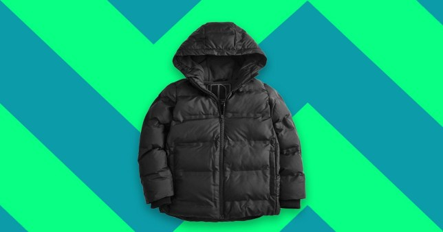 reflective children's coat from next
