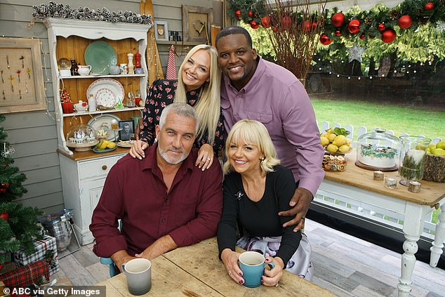 They're back! Paul Hollywood will be doing what he does best Stateside this December, as he appears in season five of The Great American Baking Show: Holiday Edition