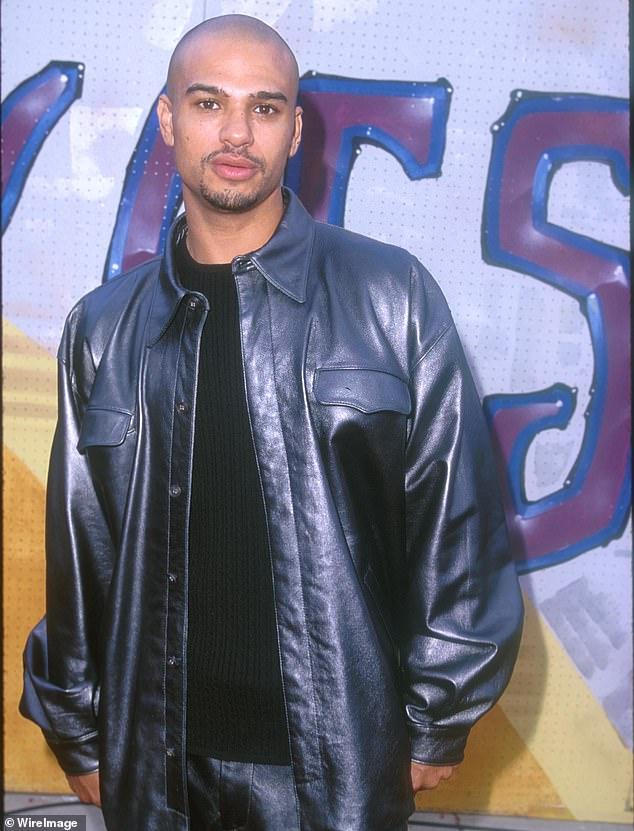 Possession: Singer Chico DeBarge (above in 1999) was arrested for possessing methamphetamine earlier this November