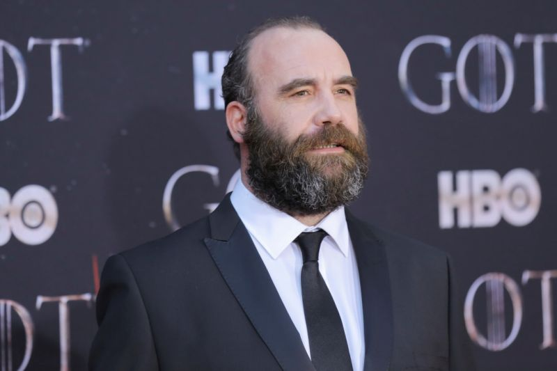 """Rory McCann arrives for the premiere of the final season of """"Game of Thrones"""" at Radio City Music Hall in New York, U.S., April 3, 2019. REUTERS/Caitlin Ochs"""