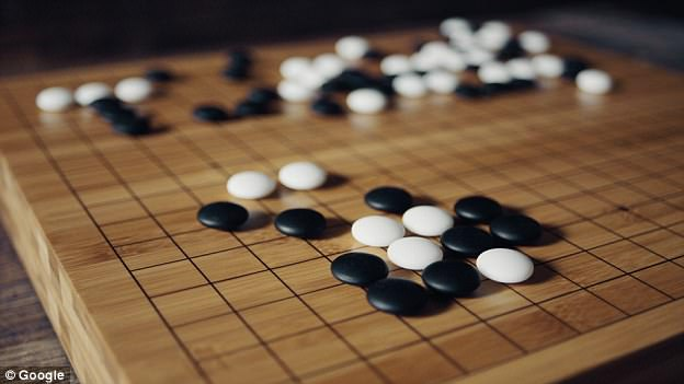 The game of Go (pictured) originated in China more than 2,500 years ago. Confucius wrote about the game, and it is considered one of the four essential arts required of any true Chinese scholar