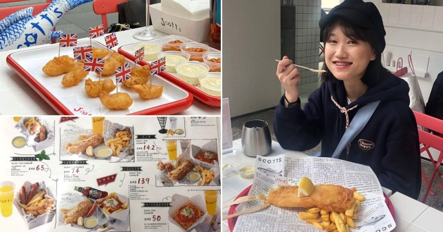 York fish and chip shop opens branch in China