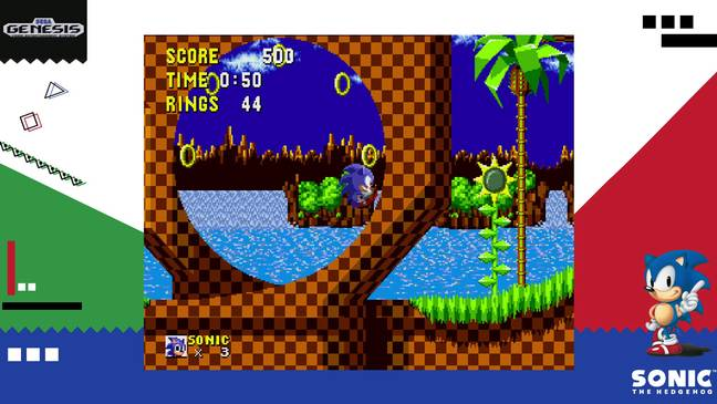 SEGA Ages Sonic the Hedgehog / Credit: M2, SEGA, Nintendo