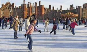 Hampton Court ice rink, london