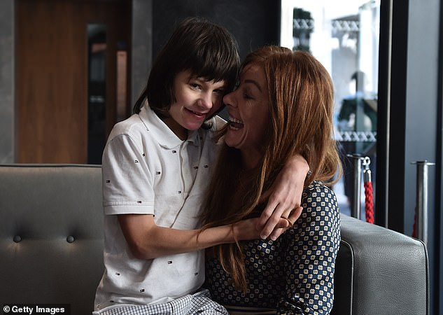 Billy Caldwell, 13, pictured with his mother Charlotte, thrust the cannabis debate into the limelight when Mrs Caldwell was stopped at Heathrow Airport while trying to smuggle cannabis oil home to her son, who is severely epileptic