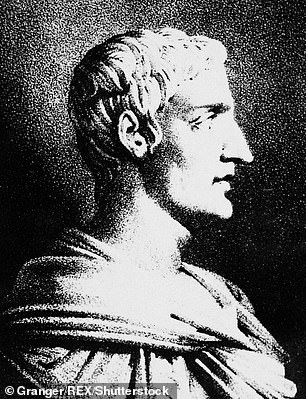 Cornelius Tacitus (After 117 A.D.). Roman Orator, Politician And Historian. Lithograph, 19th Century